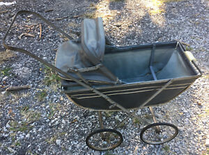 Welsh Buggy Stroller Vintage Baby Doll Carriage Bassinet Push Buggie Folding