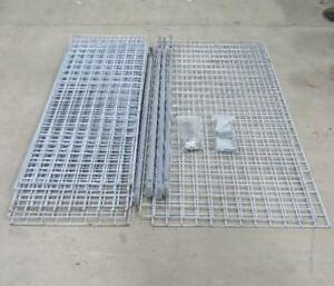 Metal Cage Panels Lot Fence Liquor Storage Security Rack Shelving