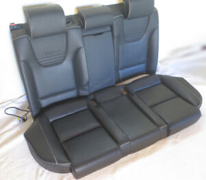 Audi Oem Rs Sport B7 S4 Rs4 Complete Recaro Heated Rear Bench Seat Free Shipping