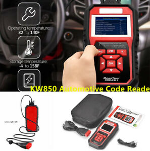 Odb Obd2 Auto Car Diagnostic Tool Scanner Kw850 Automotive Code Reader Software