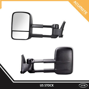 Left right Power Tow Mirror For1988 1998 Chevy gmc C10 C k 1500 Pickup Truck