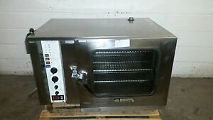 Combitherm Hud610 Counter Top Steamer Convection Oven 208 240v 3 Phase Tested