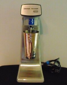 Nfs Waring Drink Mixer Dmc20 Commercial Single 1 Spindle Milk Shakes smoothies
