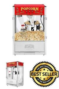 Popcorn Top Large Machine Deluxe Great Northern Company 6222 Gnp 16 Oz Ounce