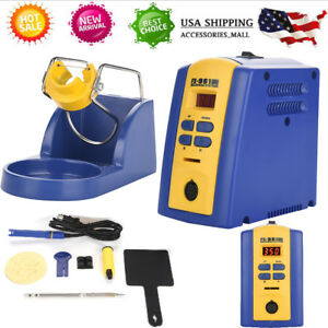 Fx 951 110v Smd Brushless Heat Gun Soldering Iron Station With Stand 75w
