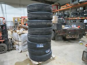 295 75r22 5 Tires Set Of 8 16 Ply Virgin New 295 75 22 5