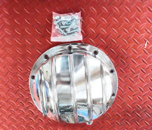 Rear End Differential Cover Gm 10 Bolt 8 5 Polished Thick Aluminum Also Gm Truck