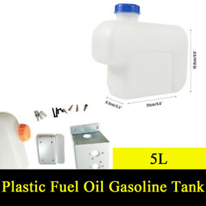 5l Plastic Fuel Oil Gasoline Tank For Auto Car Truck Air Diesel Parking Heater