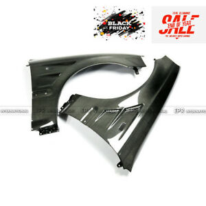 For Honda 99 00 Ek Civic Carbon Fiber Vented Front Fender Mudguard Bodykits