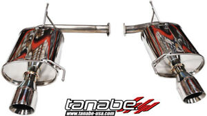 Tanabe Medalion Touring Exhaust System 02 03 Acura Cl Type S