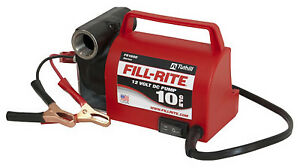 Tuthill Corp Fill Rite Diesel Fuel Transfer Dc Pump Portable 12 volt Fr1612
