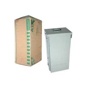 New Siemens Power Outlet Panel 70a Type 3r Series Outdoor Enclosure P17us