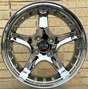 1 New 17 Replacement Rear Wheel Rim For Ford Mustang Cobra R Deep Dish 6212