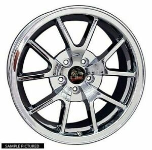 1 New 18 Replacement Rear Wheel For 1994 2004 Ford Mustang Fr500 Rim 8165