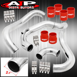 Fits Ca18det Nissan 240sx 180sx 89 94 Intercooler Piping Silicone Clamp Fit