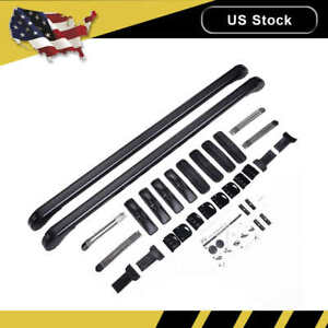 100 105cm Universal Car Top Luggage Roof Rack Cross Bar Carrier Window Frame