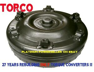 4l80e Torque Converter Gm88 1998 And Up 2200 2400 Stall Upgraded