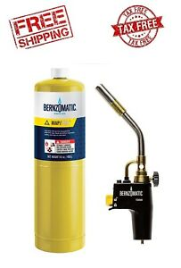 brand New 2 Pieces Bernzomatic Ts4000kc Torch Kit For Solder