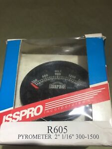 Isspro Pyromter Kit W r605 Pyrometer 14 Lead And R650 Thermocouple