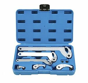 8milelake Adjustable Hook And Pin Wrench Spanner Tool Set