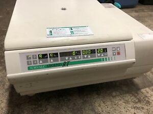 Sorvall Legend Rt Easy Set Refrigerated Tabletop Centrifuge W Rotor