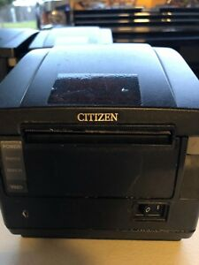 Citizen Ct 5651 Thermal Label Receipt Printer Auto Cut Working Free Shipping