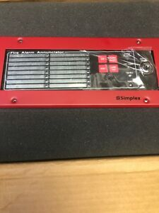 Simplex 4610 9111 Fire Alarm Panel Led Annunciator