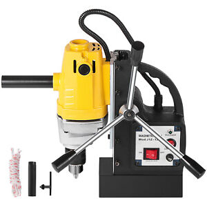 Magnetic Drill Press 1hp 750w 1 2 Boring 1910 Lbs Force Tabletop Md13