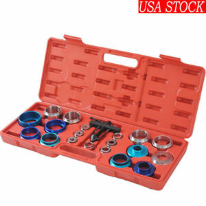 Universal Camshaft Bearing Remover Installer Tool Set Crank Seal Removal 20pcs