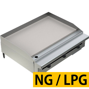 Pantin 36 Commercial 1 Super Thick Flat Top Countertop Gas Griddle Grill Nsf