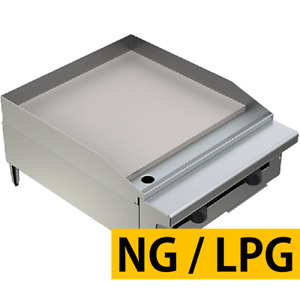 Pantin 24 Commercial 1 Super Thick Flat Top Countertop Gas Griddle Grill Nsf