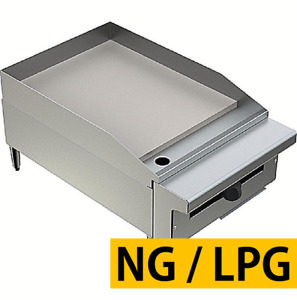 Pantin 18 Commercial 1 Super Thick Flat Top Countertop Gas Griddle Grill Nsf