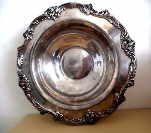 Reed Barton Silver Plated 1671 King Francis Medium Round Serving Bowl Marked