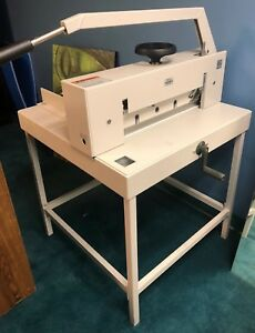 Triumph Ideal 4700 Commercial Industrial Guillotine Paper Cutter
