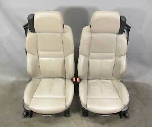 Bmw E64 M6 Convertible Factory Front Sports Seat Pair Sepang Bronze Leather Oem