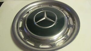 Vintage Oem Mercedes benz 15 Hubcap Wheel Cover With Turquoise Center