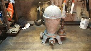 R Mcdougle Galt Canada No 3 Water Ram Pump Hit Miss Gas Engine Show Piece Pump