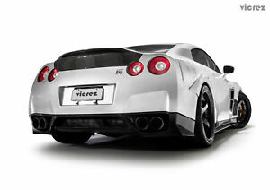 Vicrez Duckbill Carbon Fiber Trunk Vz101051 For Nissan Gtr R35 2009 2018