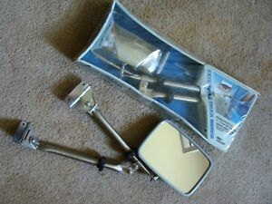 Nos Vintage West Coast Extendable Mirrors Pickup Truck Van Chevy Dodge Ford
