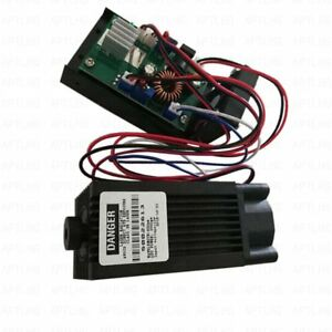 Quality Focusable High Power 450nm 2w Blue Laser Module Ttl 12v Carving burning