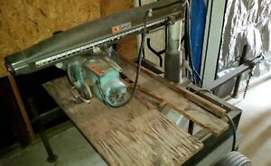 Dewalt 3516 Radial Arm Saw Towable Trailer Works Good Los Angeles Area