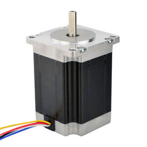 Stepper Motor Nema 23 Unipolar 1 8deg 1 35nm 8 6v 1a 57x76mm 6 Wires 3d Printer