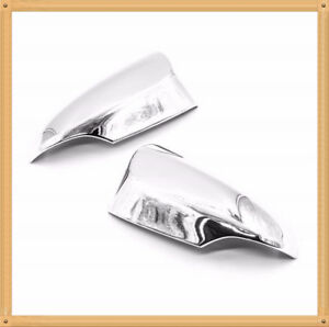 Chrome Door Mirror Cover For 2012 2015 Toyota Yaris With Turn Signal Cutout