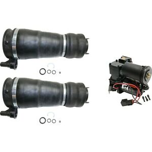 Air Suspension Kit For 2003 2006 Expedition Front 3pc Air Spring And Compressor
