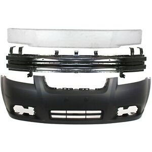 New Kit Bumper Cover Facial Front For Chevy Gm1000833 Gm1006649 Gm1070254