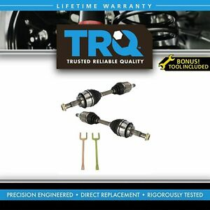 Front Cv Axle Shaft Pair With Removal Tool For 4runner Fj Cruiser Gc470 New