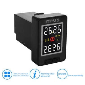 Car Tpms Real time Tire Pressure Monitor System Cap Sensors For Toyota Ma1759