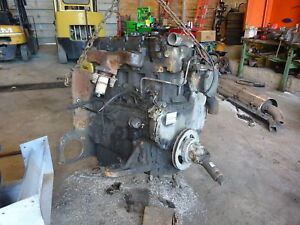 Perkins 1104c 44 Diesel Engine Complete Runner Forklift Cat 4 4 3054