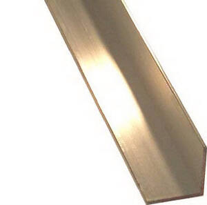 Steelworks Boltmaster Anodized Aluminum Angle 1 8 X 3 4 X 36 in 11442