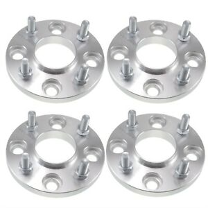 4 15mm Hubcentric Wheel Spacers 4x4 5 4x114 3 Fits Nissan 240sx Altima Sentra